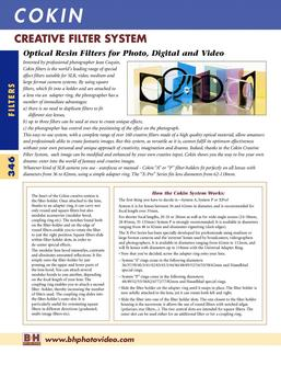35mm SLR Photo Filters & Accessories - Cokin 2007