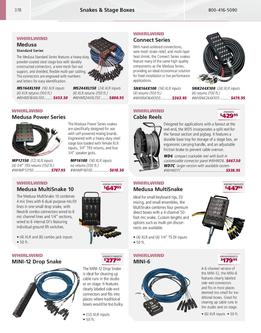 Pro Audio Cables, Media, & General Accessories 2007