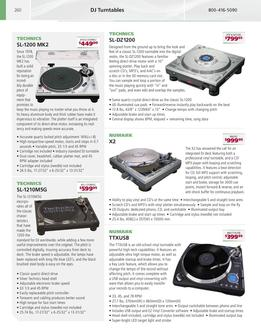 Pro Audio DJ Equipment 2007