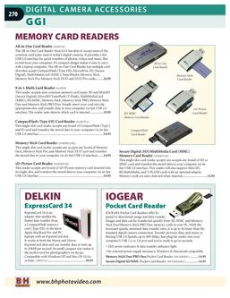Digital Photography Memory Cards & Storage 2007