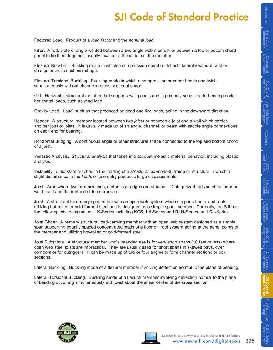 Page 29 of SJI Code of Standard Practice