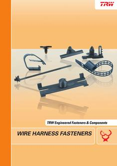 trw clips in wire harness fasteners by trw automotive electronics wire harness fasteners