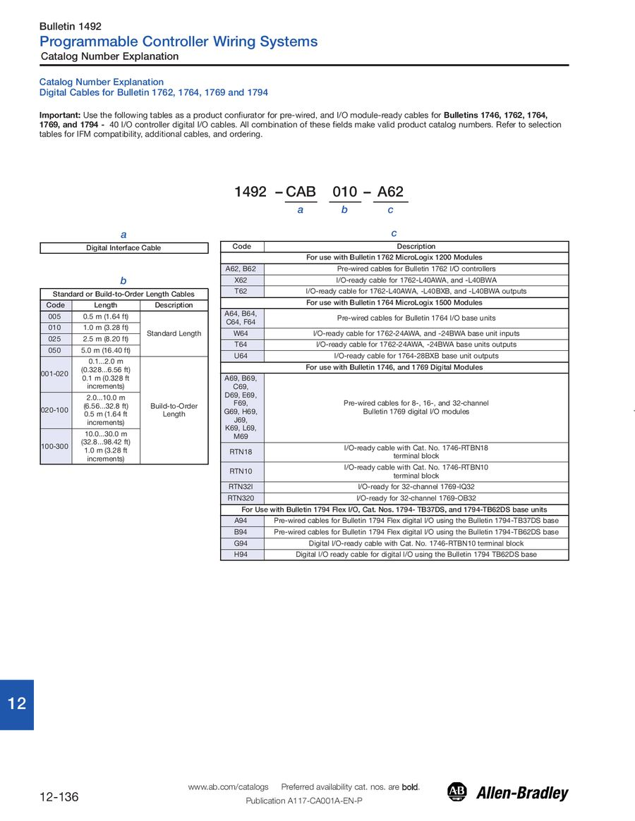 Page 138 Of Terminal Blocks Wiring And Connection Systems Control Numbering System P 212