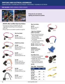 Switches & Electrical Assemblies 2011