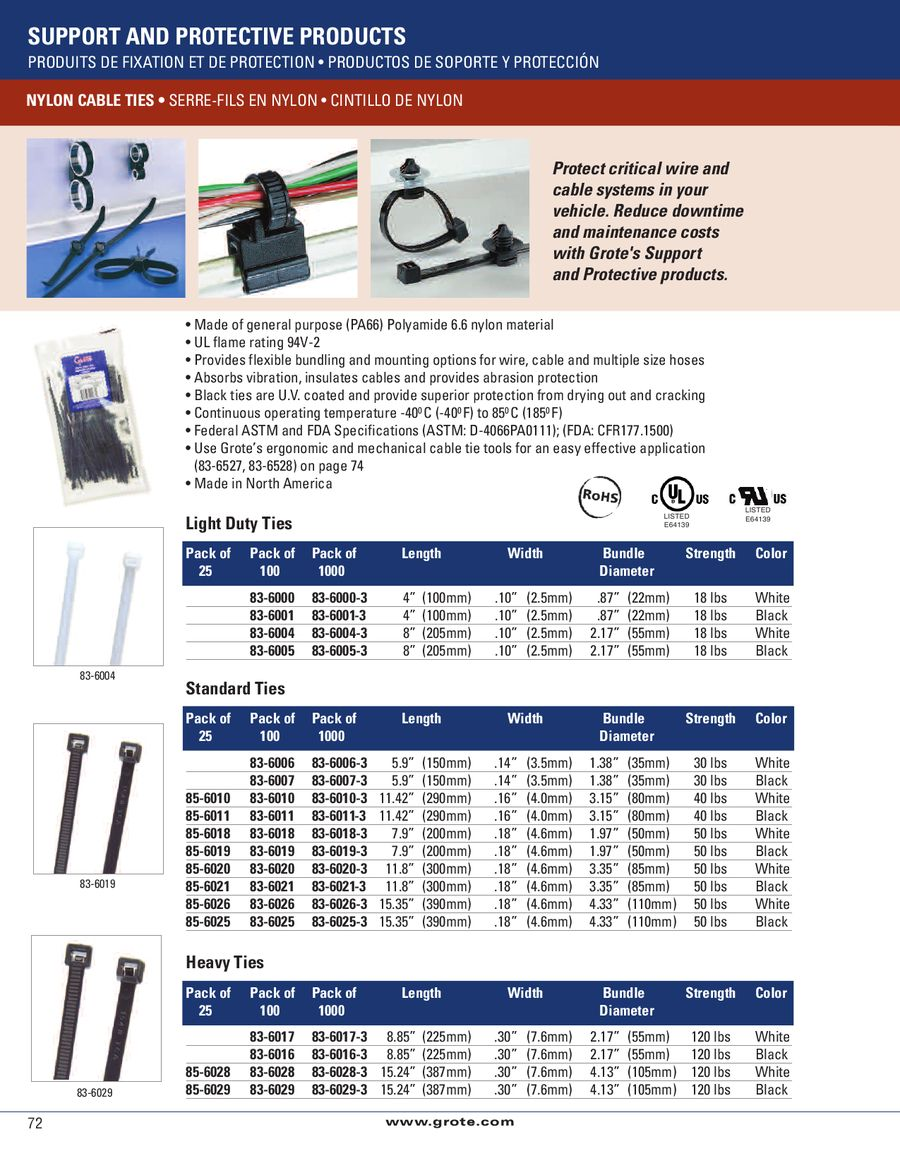 3a6f9f007fb5 Support & Protective Products 2011 by Grote Industries