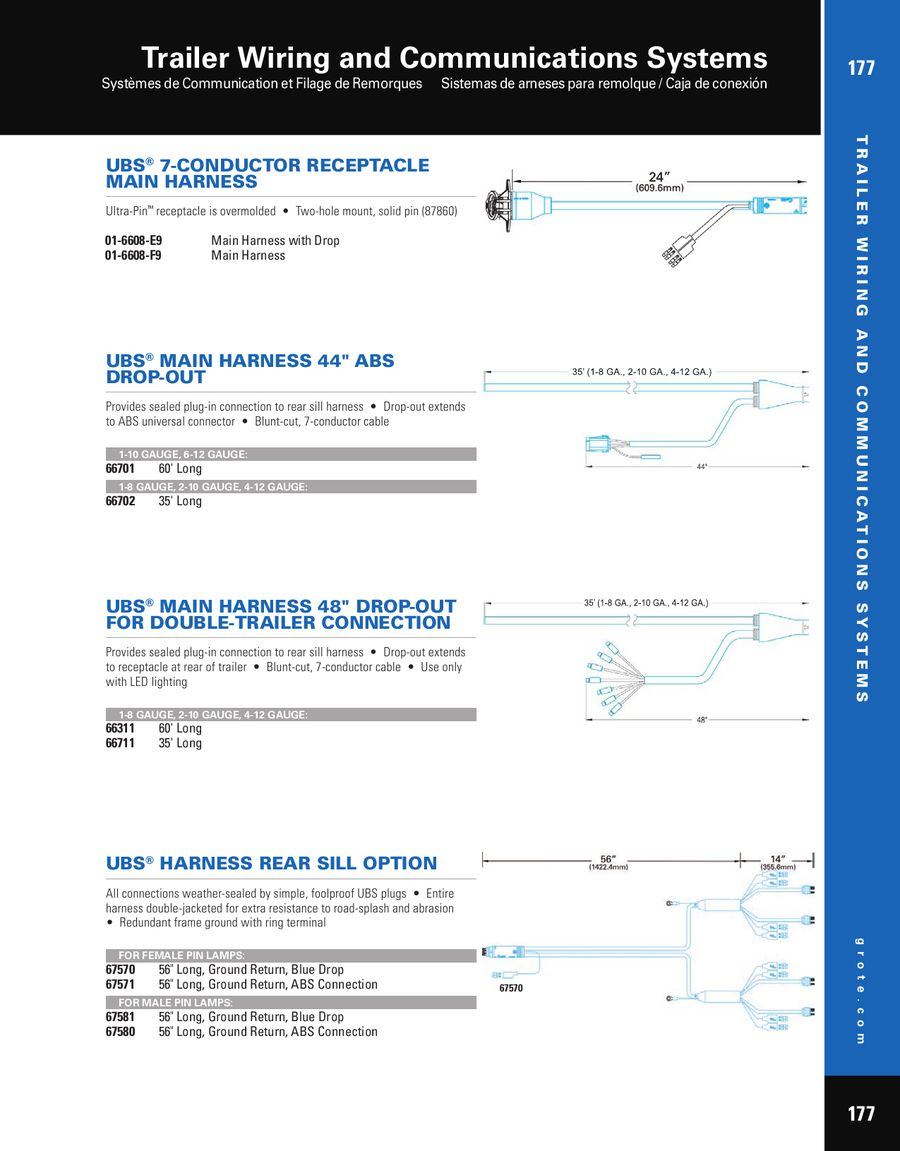 Page 4 Of Trailer Wiring And Communication Systems 2012 Harness Gauge P 8