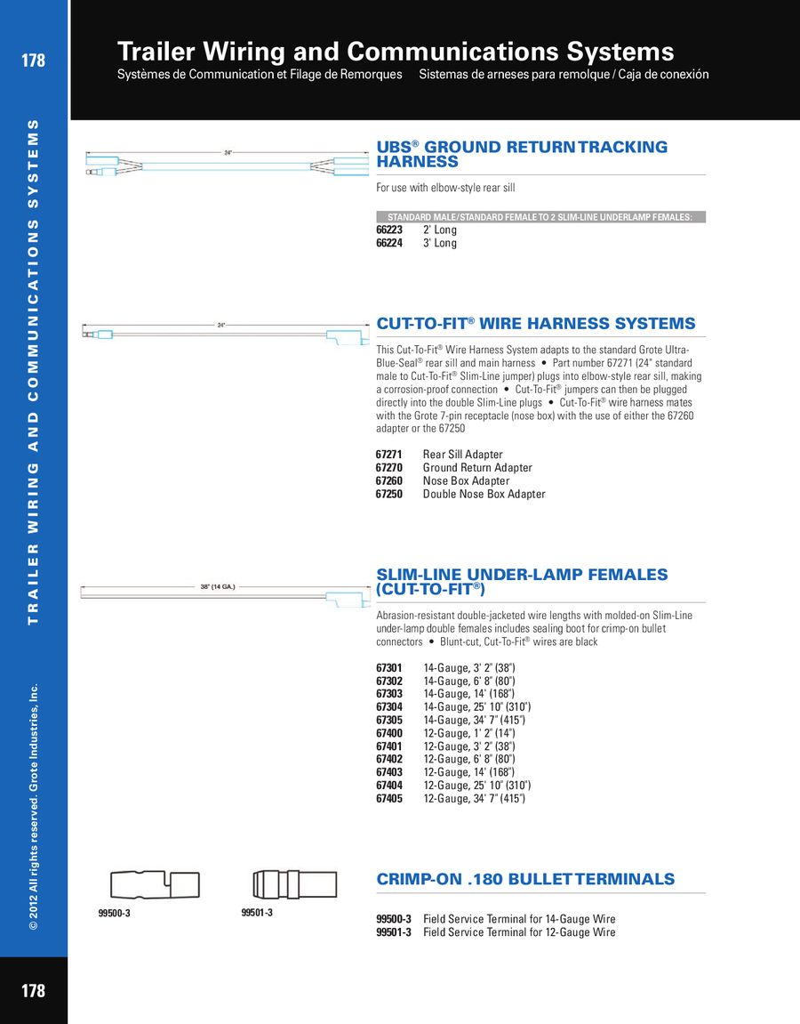 Double Trailer Wiring Harness Ground Generator Box Page 4 Of And Communication Systems 2012 On