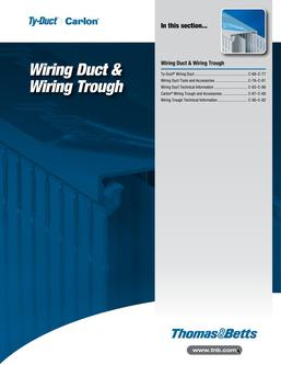 Wiring Duct & Wiring Trough 2015