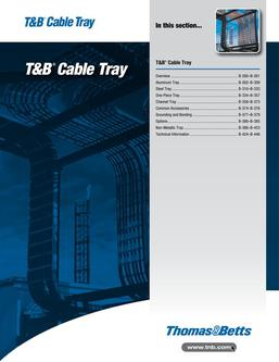T&B Cable Tray 2015