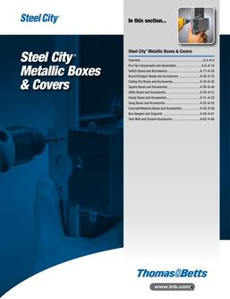 Steel City Metallic Boxes & Covers 2015