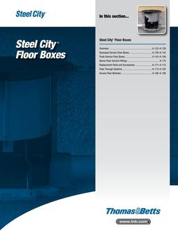 Steel City Floor Boxes 2015