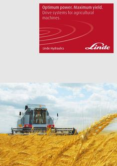 Drive Systems for Agricultural Machines