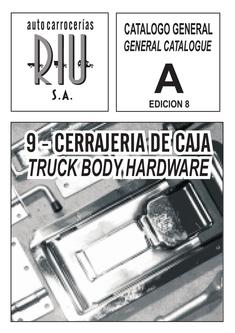 RIU Truck Body Hardware