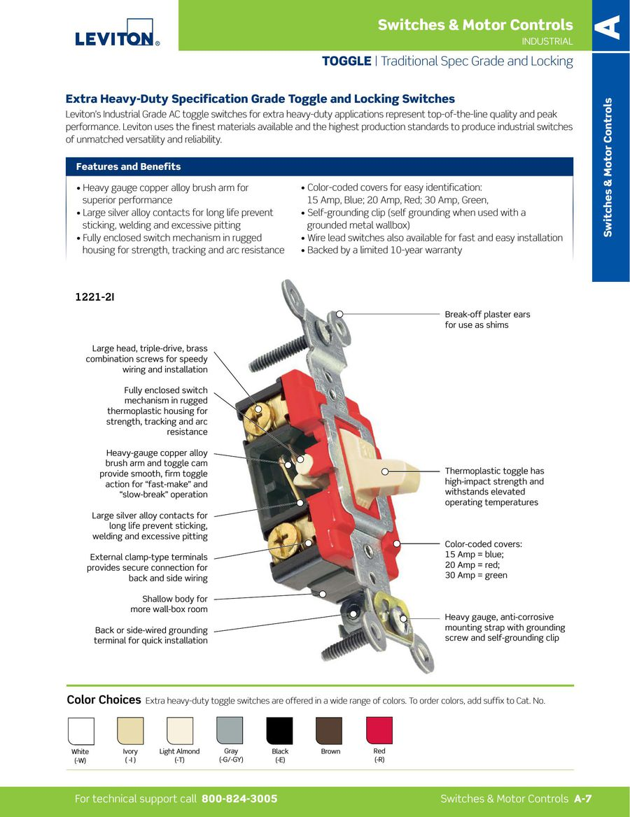 Page 9 of L-300 Switches - Motor Controls 2015