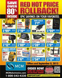 Red Hot Price Rollback! 2013