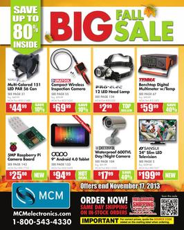 BIG Fall Sale! 2013