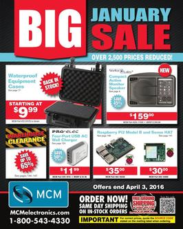Big January Sale 2016