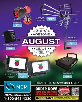 Awesome August Deals 2016