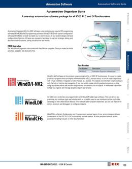 Automation Organizer Software Suite 2013