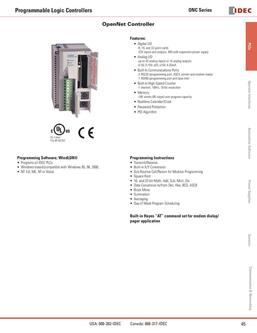 OpenNet Controller (ONC) (FC3A) 2013