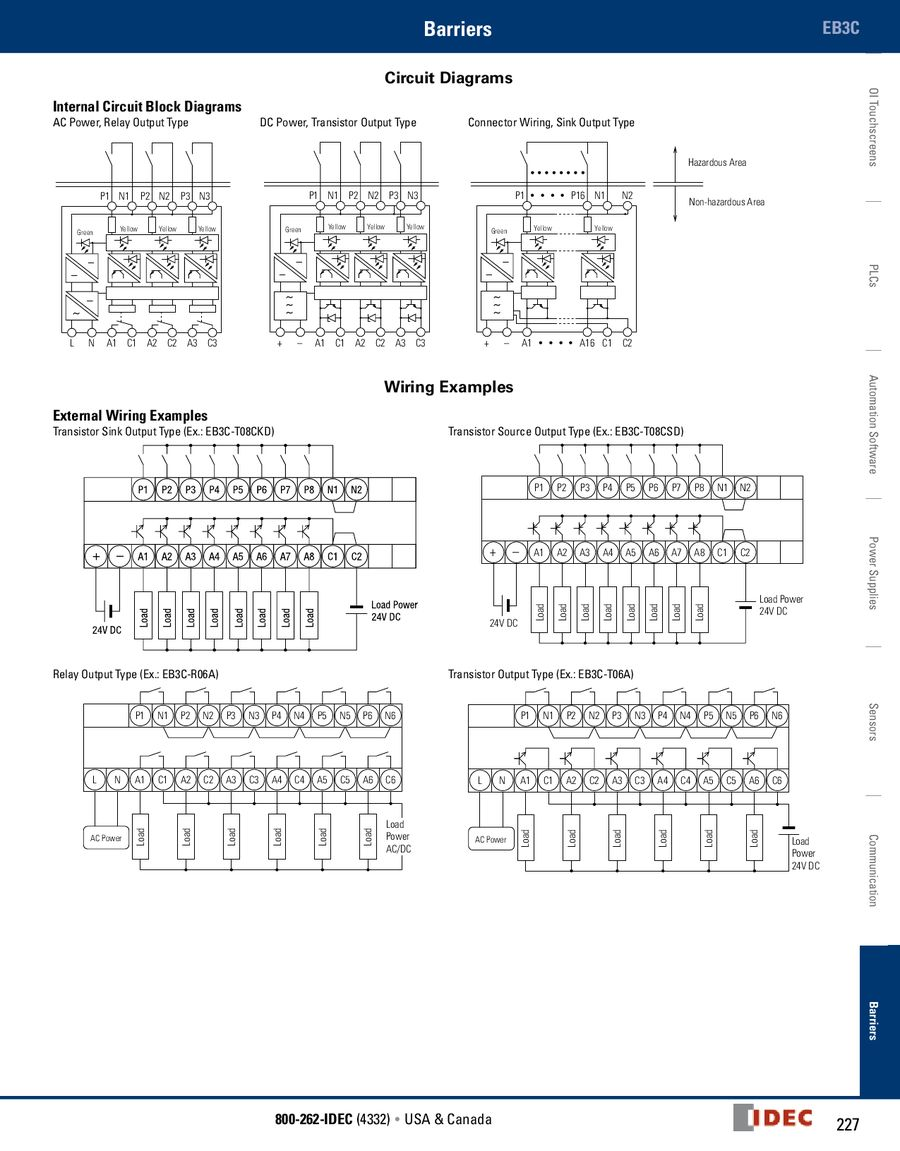 Intrinsically Safe Barriers 2013 By Idec Canada Relay Wiring P 1 12