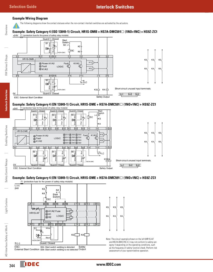 Page 76 Of Door Interlock Switches 2013 Safety Relay Wiring P 94
