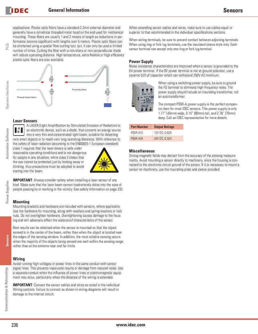 Page 14 Of Sa1j Series Complete Color Sensors 2013 How To Build A Sensor Circuit P 15