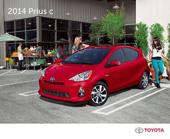 Toyota Prius c 2014 (French)
