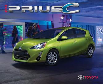 Toyota Prius c 2015 (French)
