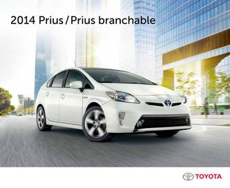 Toyota Prius hybride branchable 2014 (French)