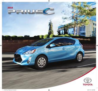 Prius c 2016 (French)
