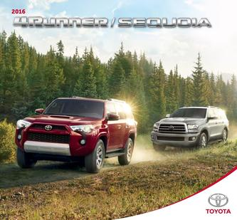 Toyota 4Runner / Sequoia 2015 (French)