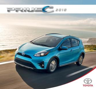 Toyota Prius C 2018 (French)