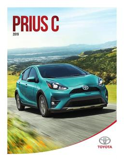 Toyota Prius C 2019 (French)