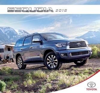 Toyota Sequoia 2018 (French)