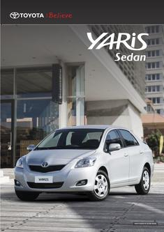 2013 Toyota Yaris Sedan
