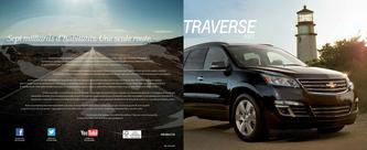 Chevrolet Traverse 2013 (French)