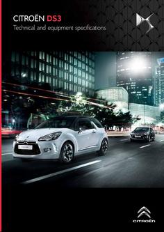 Citroën DS3 Specifications 2013