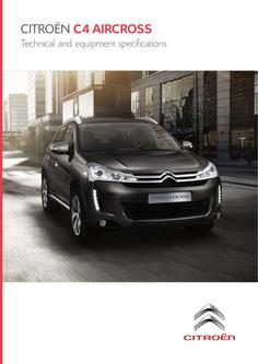 Citroën C4 Aircross Specifications 2013