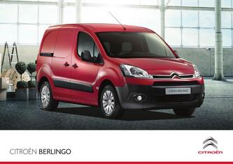 Citroen Berlingo Specifications 2015
