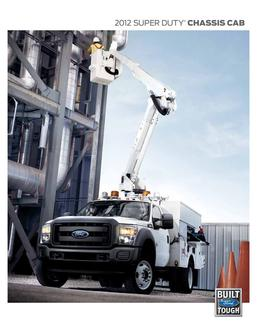 2013 Ford Super Duty Chassis Cab