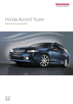 Honda Accord Tourer Genuine Accessories 2013