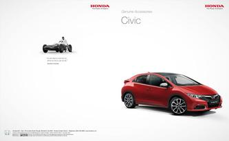 Honda Civic Genuine Accessories 2013