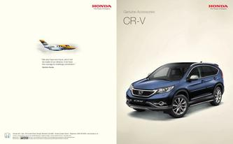 Honda CR-V Accessories 2013