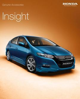 Honda Insight Accessories 2013
