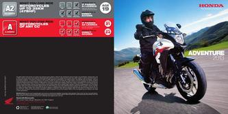 Honda Adventure Motorcycles 2013