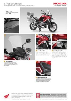 Honda Crosstourer Accessories 2013
