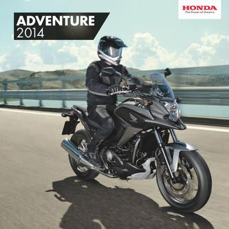 Adventure Motorcycles 2014