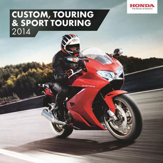 Custom, Touring & Sport Touring Motorcycles 2014