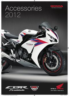 Honda Fireblade Accessories 2014